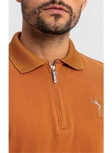 Boris Becker Uzun Kollu Pike T-shirt Camel